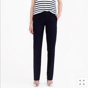 Tall J. Crew Bristol trouser in stretch cotton